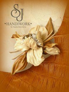 Анонс мастер-класса: брошь из натуральной кожи 'Ирис' - Ярмарка Мастеров - ручная работа, handmade