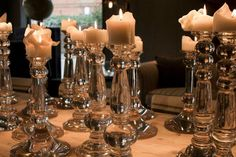 Glass Candle Holders #candles