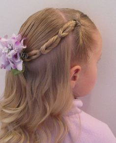 Cool, Fun & Unique Kids Braid Designs -Simple & Best Braiding Hairstyles For Kids 2012-20