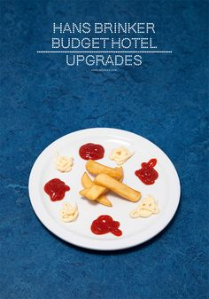 Ads-Haute Cuisine from Hans Brinker's a la carte restaurant Advertising Campaign, Ads, Travel And Tourism, Marketing, Budgeting, Restaurant, Breakfast, Composition, Food