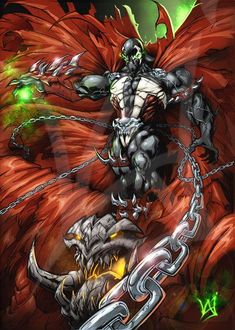 Unimaginable wrath of the HellSpawn Comic Book Characters, Comic Book Heroes, Comic Books Art, Comic Art, Marvel Art, Marvel Dc Comics, Marvel Heroes, Spawn Comics, Anime Comics