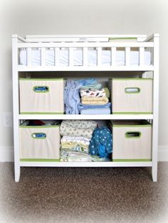 reuse diaper boxes