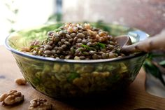 Lentil Salad With Walnut Oil Recipe - NYT Cooking