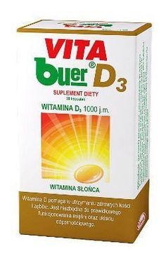 VITA BUER D3 1000j.m. x 30 capsules, vitamin d3