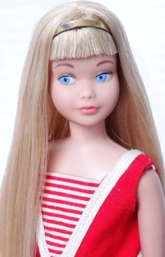 Skipper - Barbie's little sister :)  I loved Skipper, but she was hard to get clothes for.