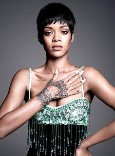How to Decorate Your Home Like Rihanna via @MyDomaine
