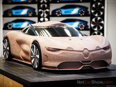 Design process: Renault Alpine A :: Cardesign Community Alpine Renault, Renault Sport, Automotive Design, Auto Design, Design Cars, Clay Design, Car Sketch, Transportation Design, Automobile