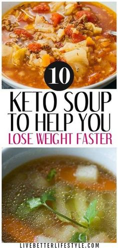 low carb keto soup recipes Diet Soup Recipes, Paleo Keto Recipes, Easy Healthy Soup Recipes, Slow Cooker Keto Recipes, Salad Recipes Low Carb, Meal Recipes, High Protein Recipes, Protein Foods, Recipes Dinner