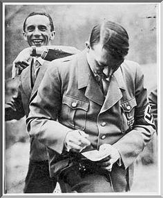 PICTURES FROM HISTORY: Rare Images Of War, History , WW2, Nazi Germany: JOSEPH GOEBBELS: The man behind Adolph Hitler
