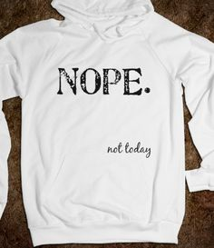 I need this on certain days to forewarn my fellow humans to not even attempt interaction with me. Lol