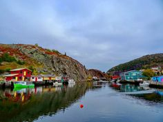 "Quidi Vidi (""The Gut""), Newfoundland"