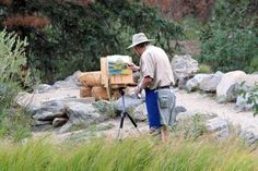 If you're wanting to go paint on location (or, in art jargon to go plein air painting), these practical tips will help you get the most from the experience.