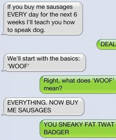 Funny memes How to learn dog language...