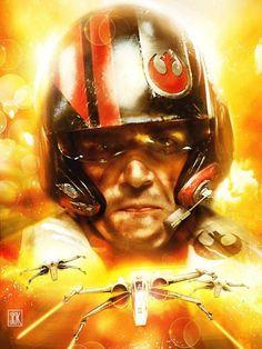 Star Wars: Episode VII - The Force Awakens - Poe by Siskary