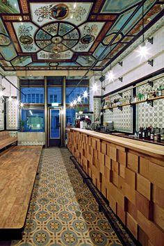 O açougue que virou bar e café - Casa Vogue | Lazer&Cultura