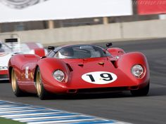 69 Ferrari 312P.     Who needs headroom?