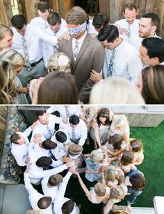 praying over bride and groom