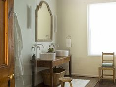 Roses and Rust: 2017 Double Vanity, Rust, Sink, New Homes, Mirror, Bathroom, Inspiration, Furniture, Charlotte