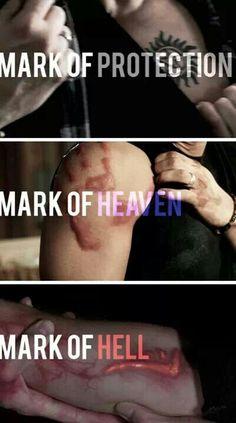 Dean's marks ~ Supernatural