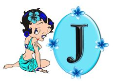 alphabet, a-z, png graphics, Betty Boop graphics, Betty Boop Alphabet, free alphabet