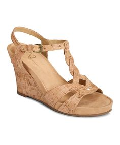 d62c9241c34 by Aerosoles Cork Stone Plush T-Strap Wedge. Irene Williams · Women s shoe  design