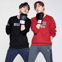 Silly boys... | Monsta X - Jooheon x Changkyun