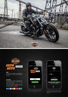 Gráfica y app para Harley-Davidson