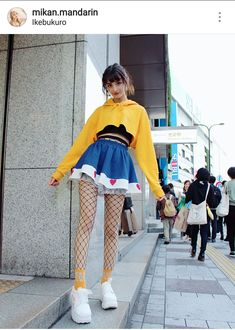 Jeans With Net Stockings Kawaii Fashion, Cute Fashion, Girl Fashion, Fashion Outfits, Looks Style, My Style, Clothing Sketches, Kawaii Clothes, Alternative Outfits