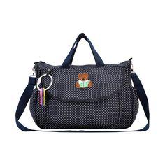 Unbearably Cute Navy Diaper Bag Set (6pc-set), 57.3% discount @ PatPat Mom Baby Shopping App
