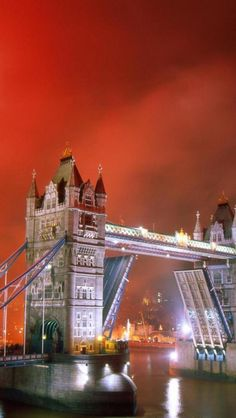 Tower Bridge London, England, Fireworks, Lighting, Night, Landscapes