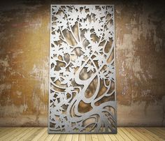 Maple design - laser cut screen modern-screens-and-room-dividers
