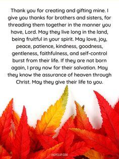 Thanksgiving Prayer, Self Control, I Pray, Live Long, Patience, Psalms, Prayers, Blessed, Thankful