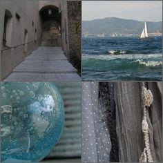 interieur huis: Fair aan de Maas en aan de Middellandse zee