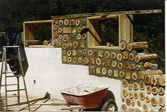 Cordwood Home Construction | Flickr - Photo Sharing!
