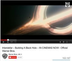 Come visualizzare un buco nero / Interstellar – Building A Black Hole ,Monster of the Milky Way