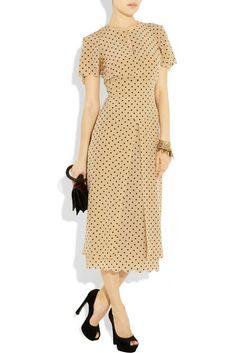 Brainy Mademoiselle: Polka-Dot Dress