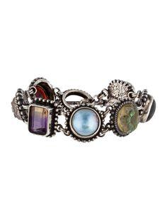 Stephen Dweck Gemstone Link Bracelet