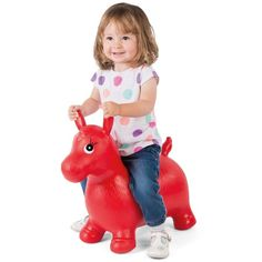 ToyStar Bouncy Horse Hopper Toy