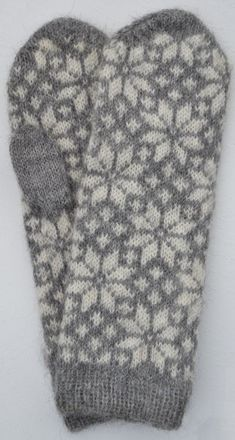 Mittens Pattern, Knit Mittens, Mitten Gloves, Knitted Hats, Crochet Snowflakes, Fair Isle Knitting, Knitting Accessories, Fingerless Gloves, Arm Warmers