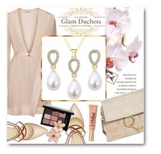 """""""Glam Duchess"""" by glamduchess ❤ liked on Polyvore featuring Chloé, Nine West and Too Faced Cosmetics"""