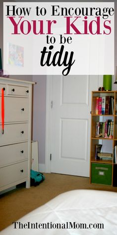 Kids can be taught to be tidy, and here are the tips this mom of 8 shares to teach her kids to keep their home neat and tidy. via @www.pinterest.com/JenRoskamp