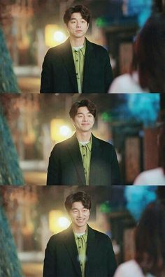 goblin, gongyoo, and leedongwook image Asian Actors, Korean Actors, Gong Yoo Coffee Prince, Goblin The Lonely And Great God, Goblin Korean Drama, Goong Yoo, Goblin Gong Yoo, Divas, Park Hyung