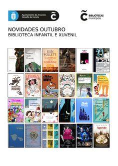 Novedades en la Biblioteca Municipal Infantil y Juvenil. Novelas, literatura juvenil, materias, cuentos...
