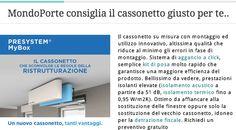 Consigliato da MondoPorte S.r.l. - Cassonetti ALPAC PRESYSTEM MyBox