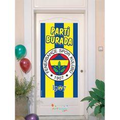 Fenerbahçe Kapı Banner Fenerbahçe Kapı Banner Ürün ÖzellikleriÜrün Paketinde 1 Adet Fenerbahçe Kapı Banner bulunur.Plastik Fenerbahçe Kapı Banner Kaliteli baskı ve canlı renktedir.Fenerbahçe temalı kapı banner boyutu 56 * 112 cm'dirÇocuklarınızın odasının kapısına asmak için kullanılır.  Fenerbahçe
