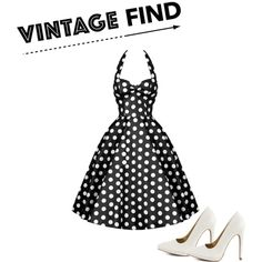 Vintage find #3 by brooke-hilton on Polyvore featuring Qupid and vintage