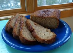 Look at those luscious slices of this quick and tasty bread