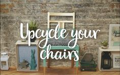 Grown tired of your dining furniture? No need to throw them out! Upcycle your chairs with our easy how-to. All you need is some sandpaper,  Rust-Oleum spray paint and bit of elbow grease.