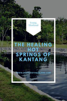 The healing hot springs of Kantang. Trang, Thailand.