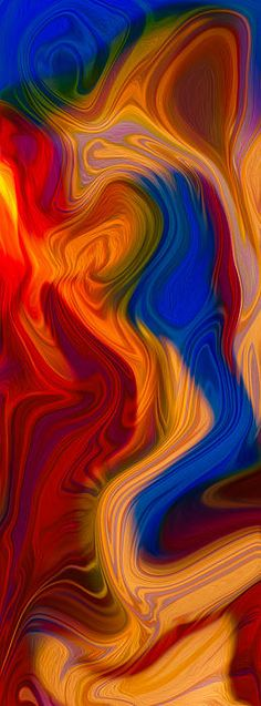 Colorful Compromises II Omaste Witkowski owfotografik.com This painting started out as a picture of handblown glass created by Garth Mudge of Glassworks in Winthrop Wa.